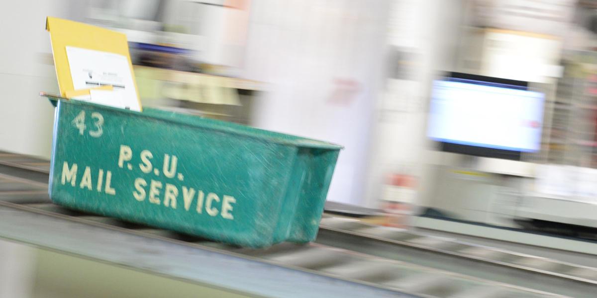 Campus mail service