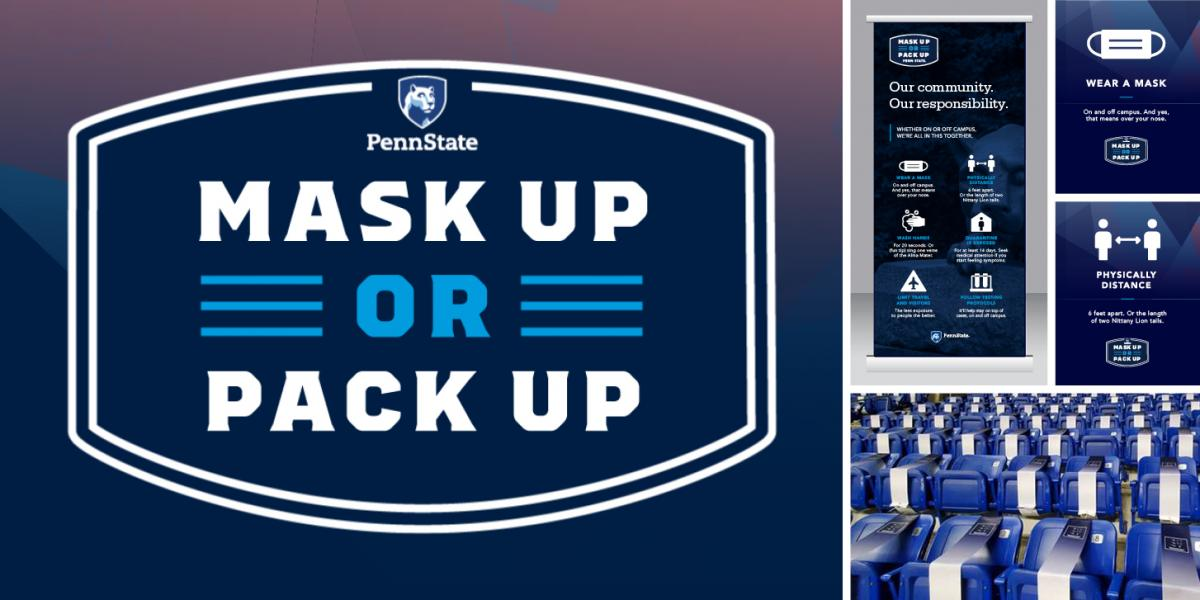 Mask Up or Pack Up Initiative