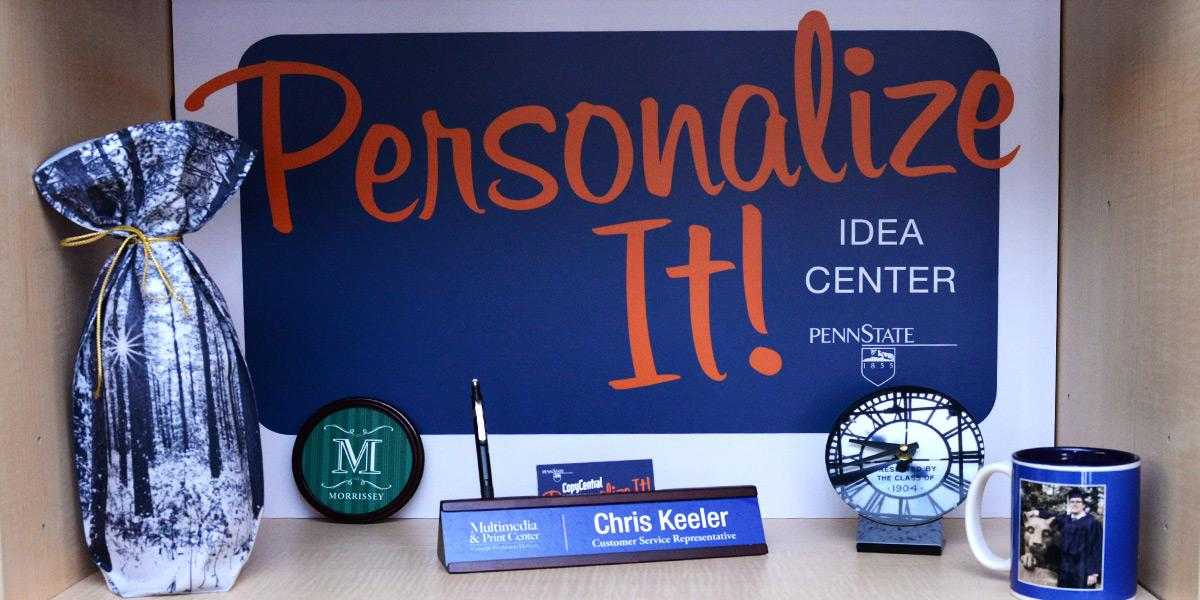 Personalize it products